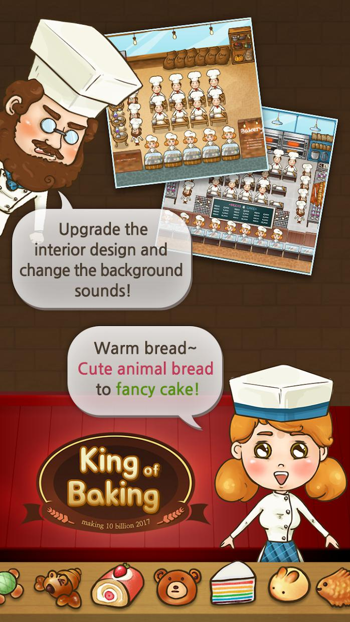 King of Baking (Grow a bakery) 游戏截图2
