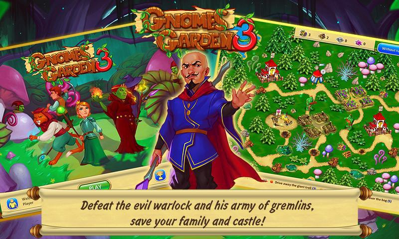 Gnomes Garden: The Thief of Castles 游戏截图1
