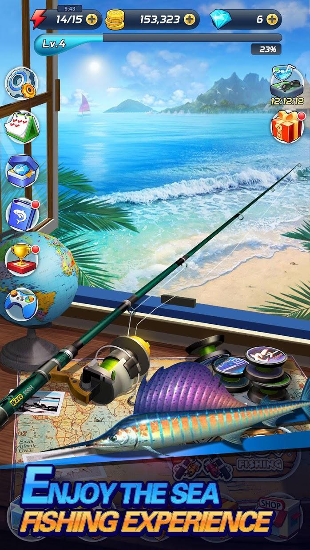 钓鱼热发烧 游戏截图1