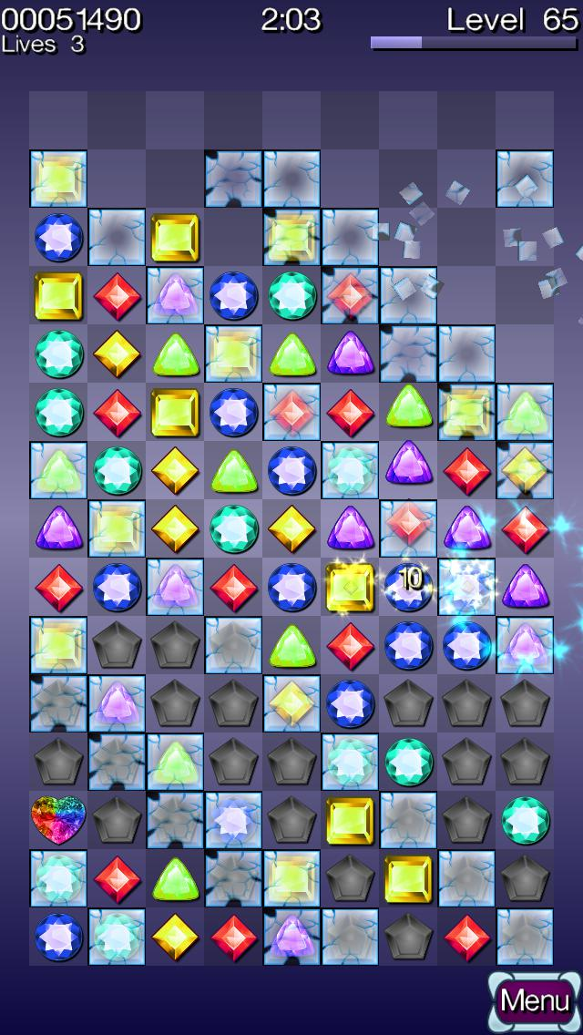 Diamond Stacks PRO - Match 3 游戏截图4