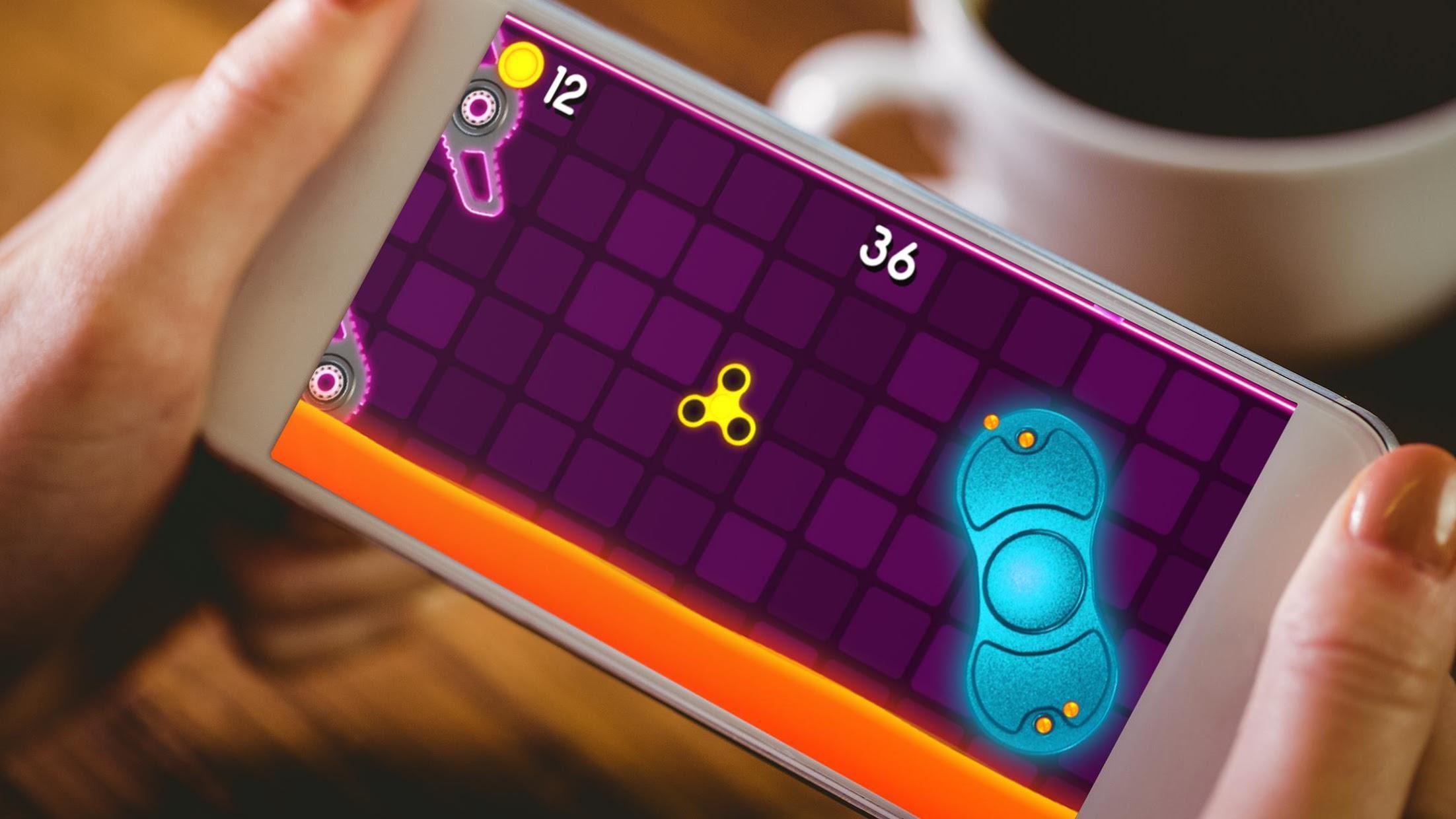 Fidget Spinner  Wheel Toy - The Arcade Game 游戏截图1