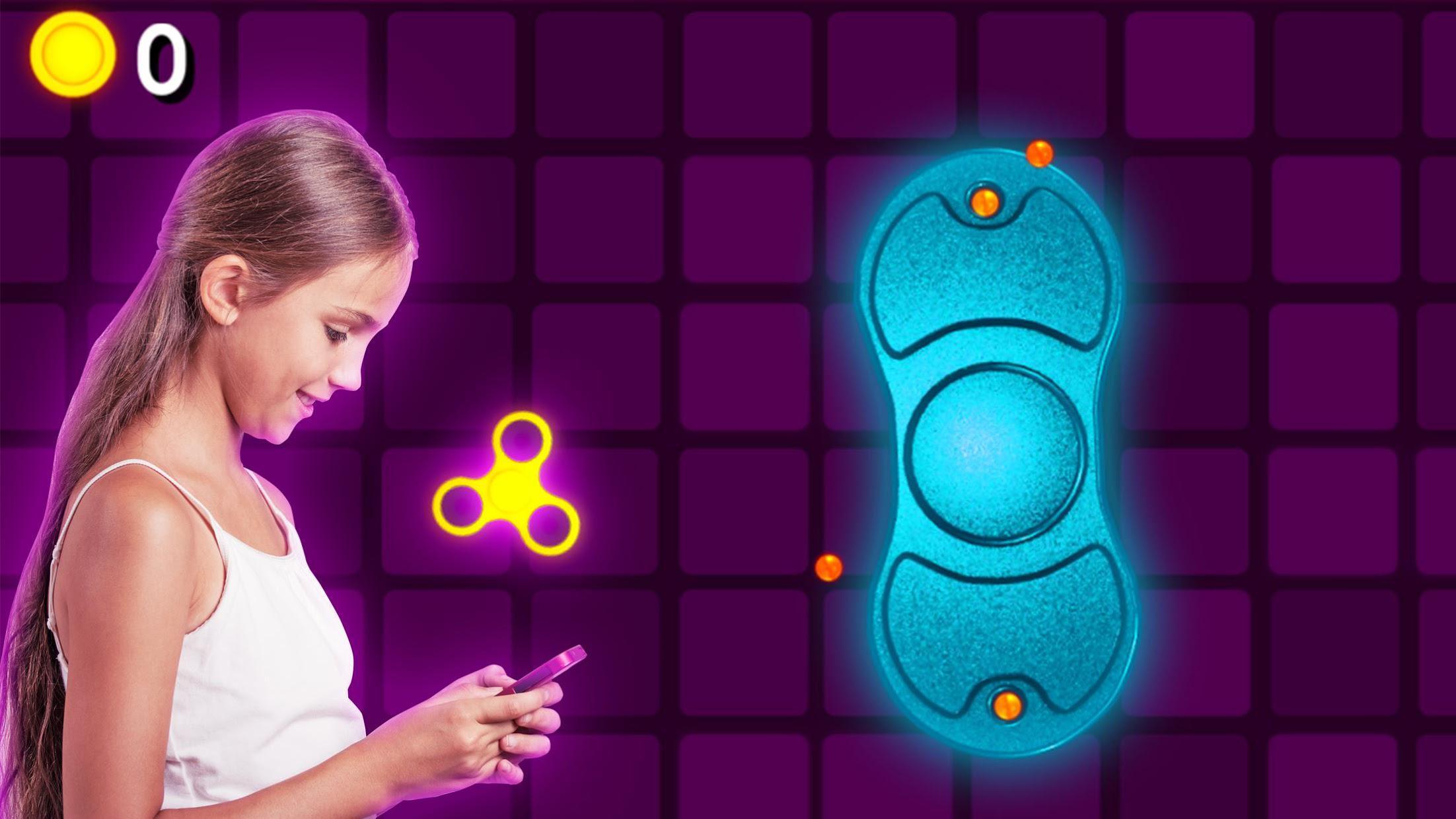 Fidget Spinner  Wheel Toy - The Arcade Game 游戏截图3