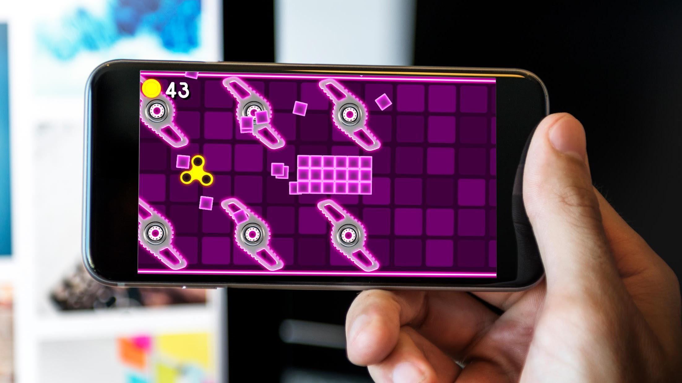 Fidget Spinner  Wheel Toy - The Arcade Game 游戏截图5