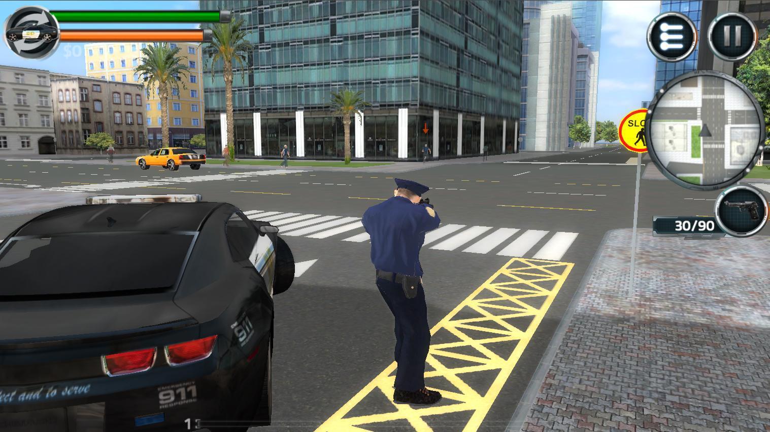 Crimopolis - Cop Simulator 3D 游戏截图3