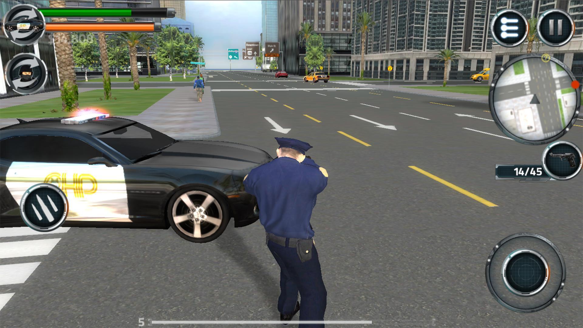 Crimopolis - Cop Simulator 3D 游戏截图4