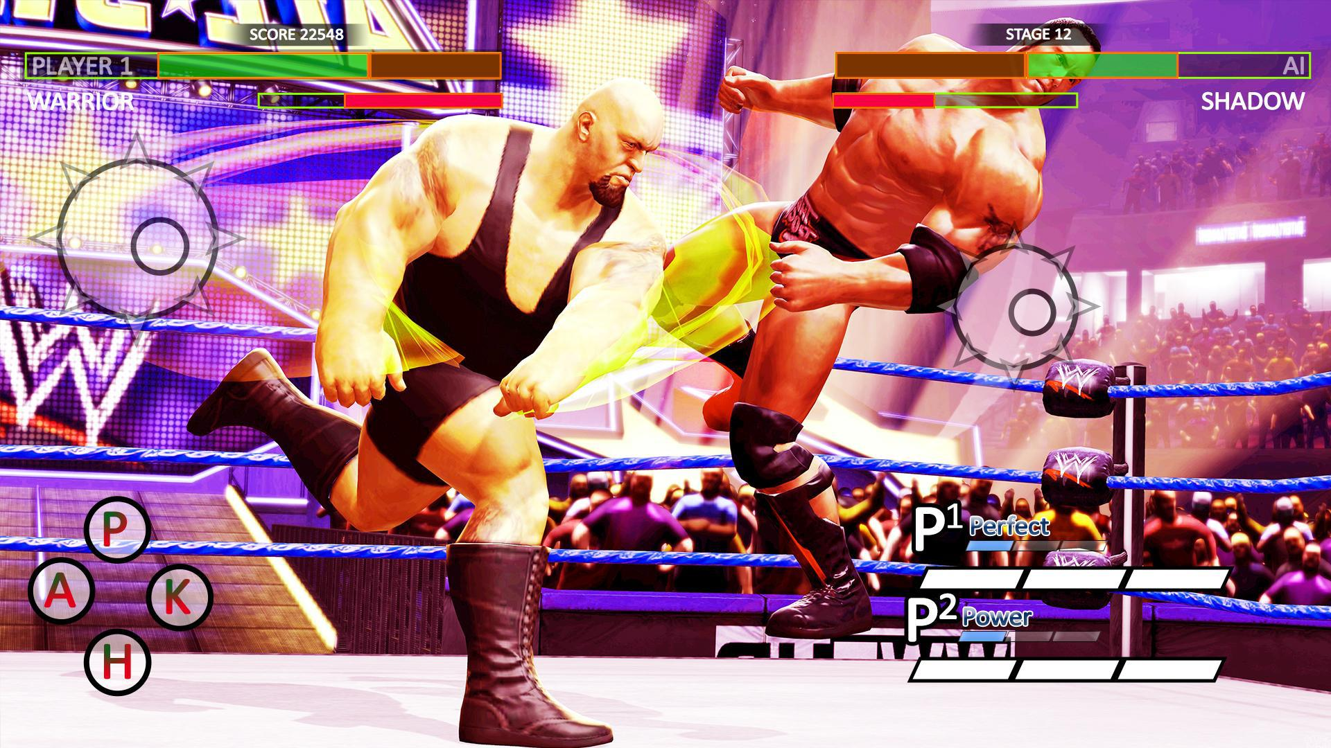 World Tag Team Game 2k19:Wrestling Championship 3D 游戏截图2