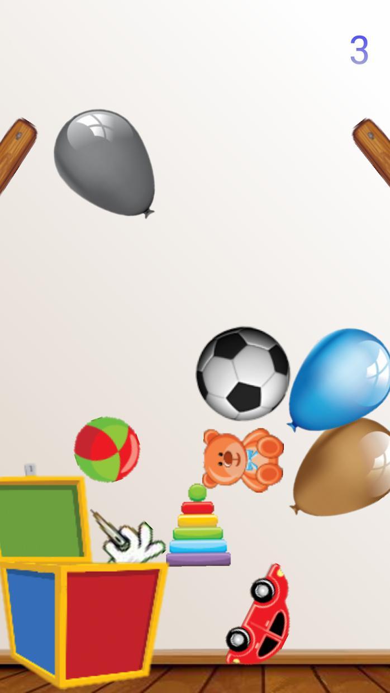 Baby Balloons Globos 游戏截图2