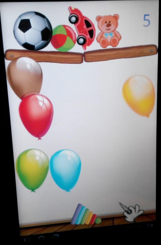 Baby Balloons Globos 游戏截图5