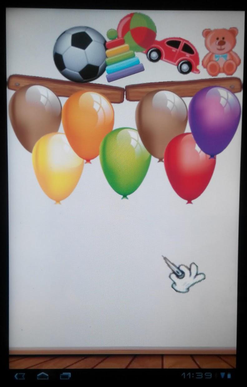 Baby Balloons Globos 游戏截图4