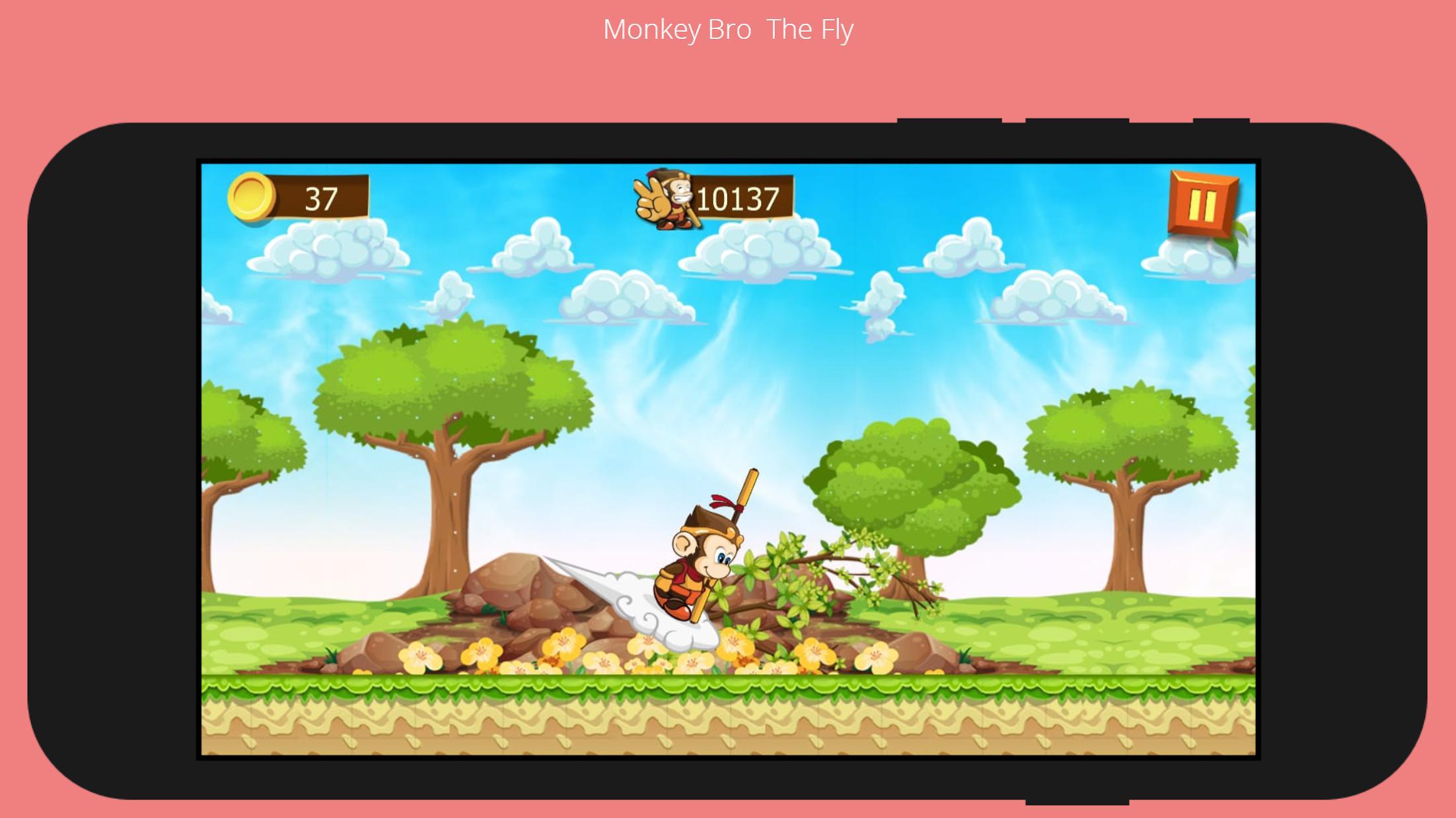 Monkey Bro 游戏截图3