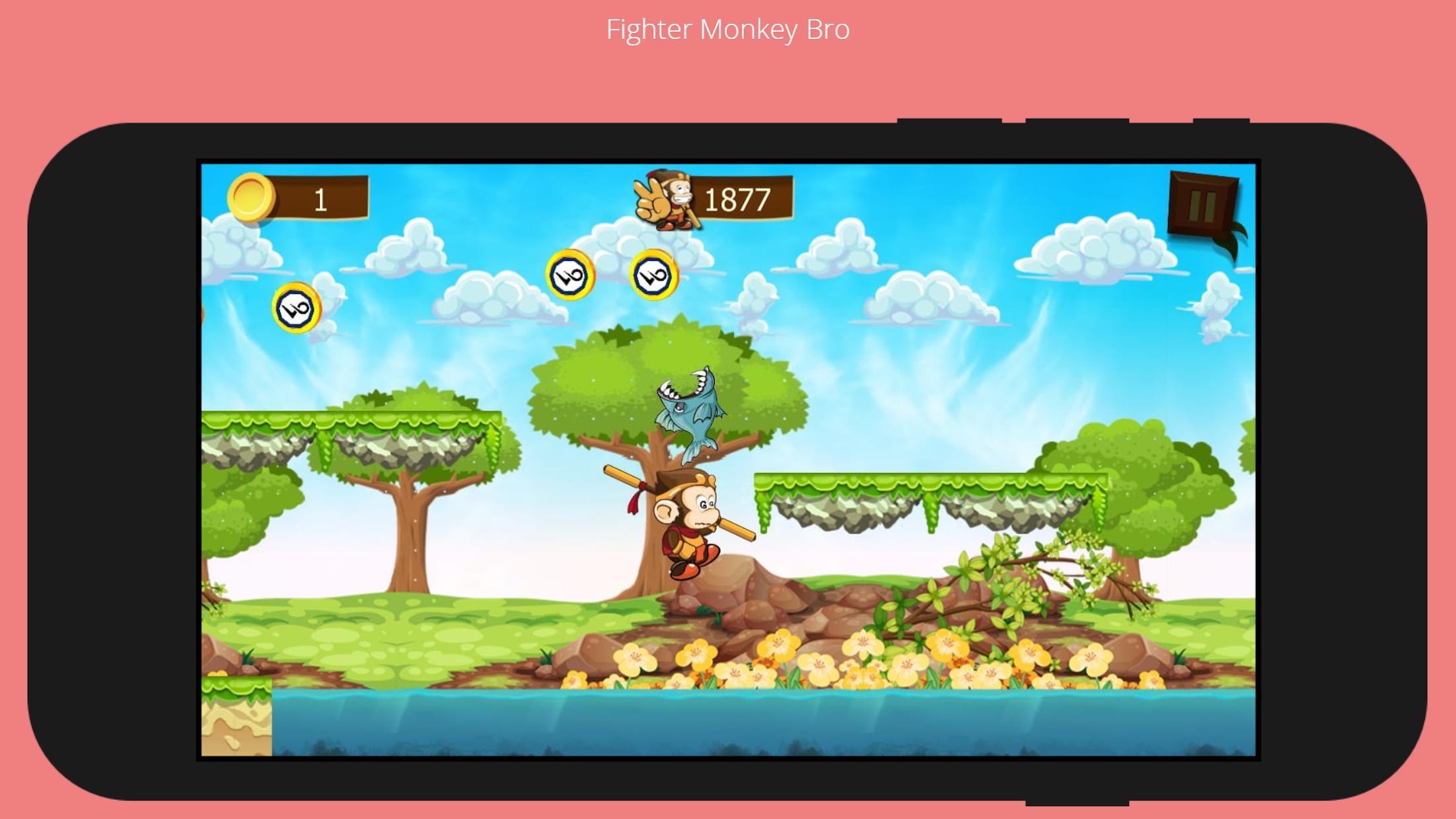 Monkey Bro 游戏截图4