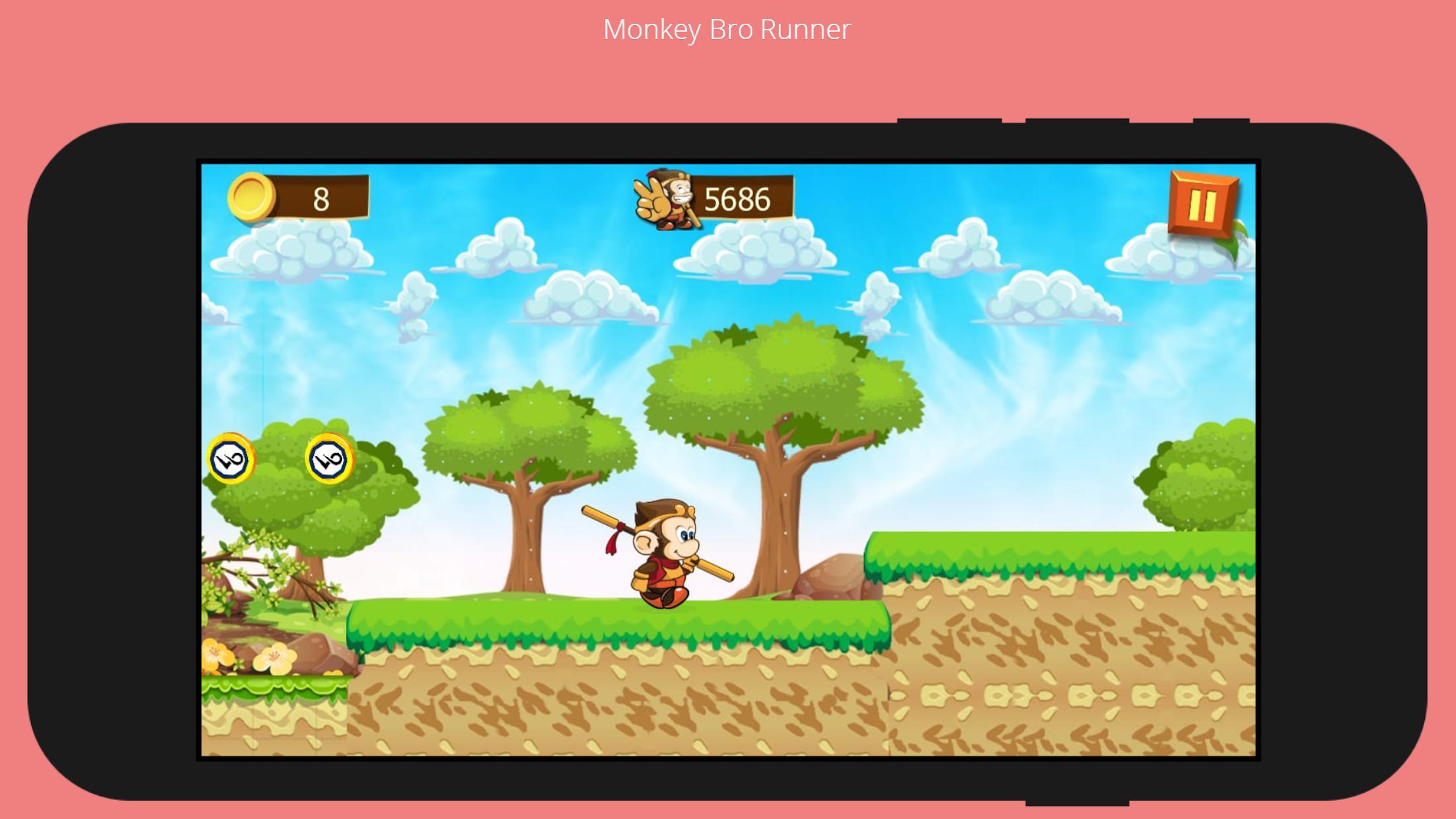 Monkey Bro 游戏截图5