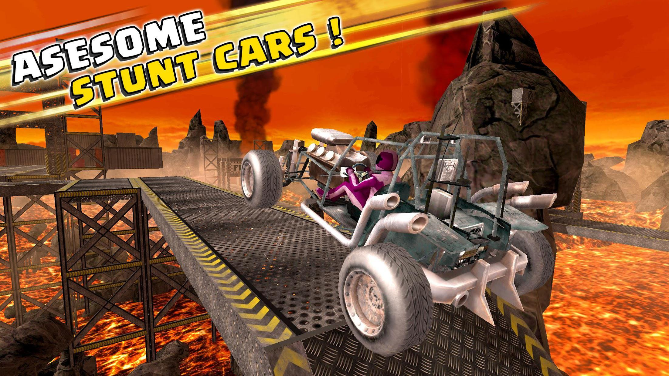 Impossible Buggy Stunts : Free Car Games 游戏截图1