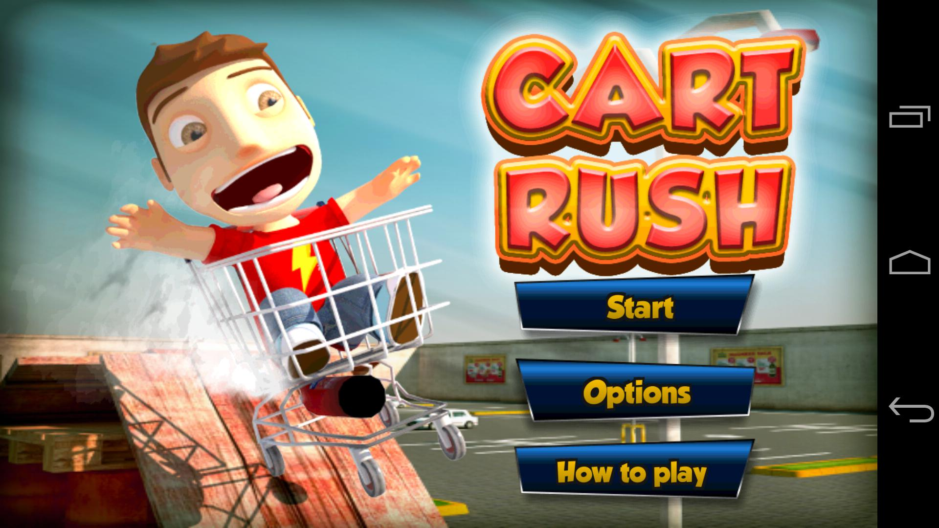 Cart Rush 游戏截图1