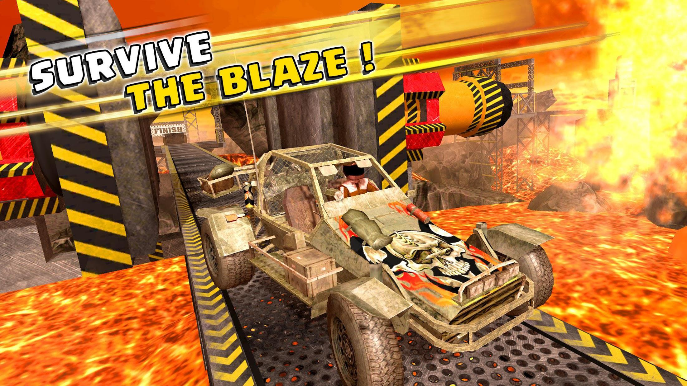 Impossible Buggy Stunts : Free Car Games 游戏截图3