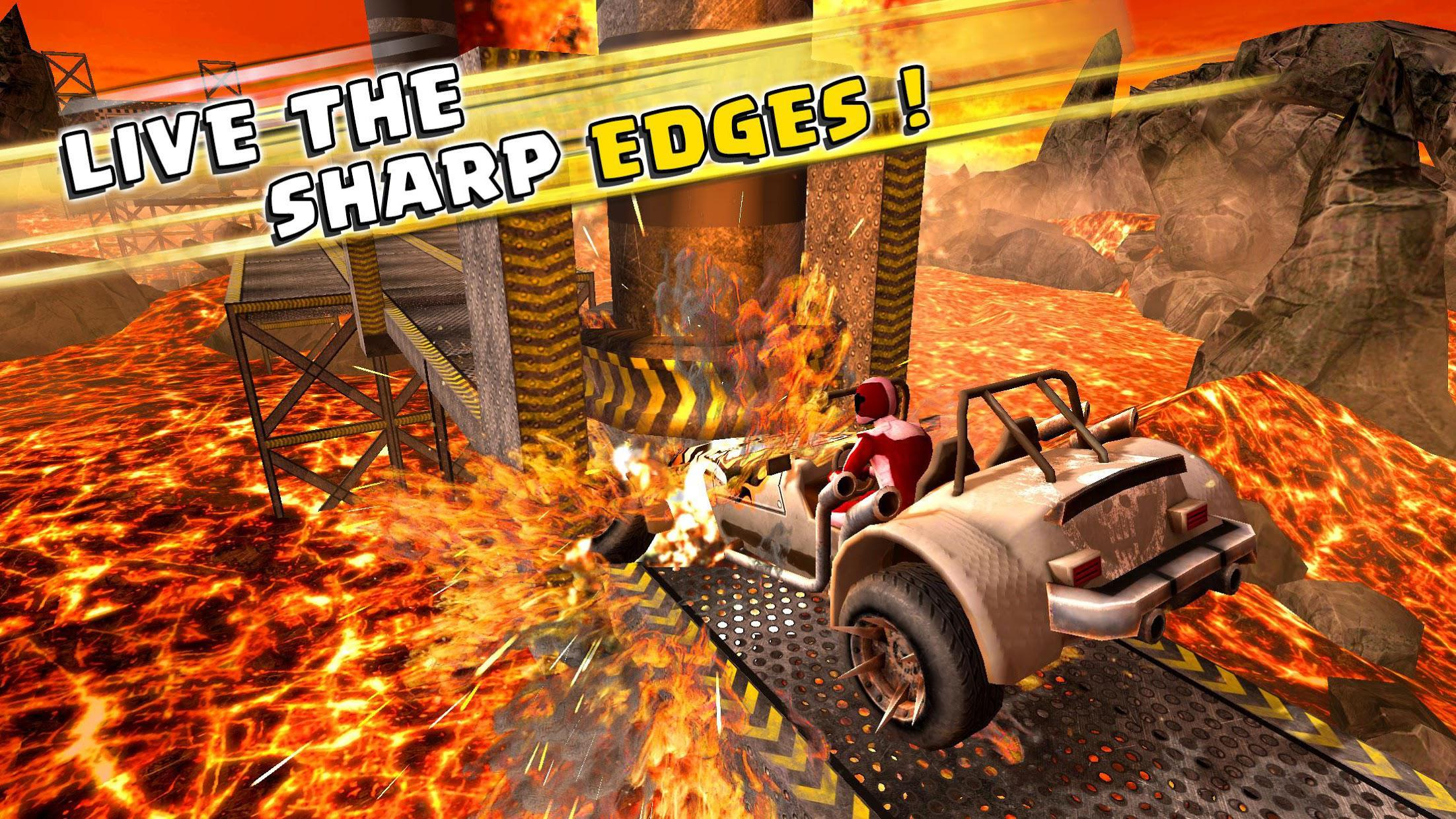 Impossible Buggy Stunts : Free Car Games 游戏截图4
