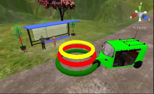New Rickshaw Rival 游戏截图5