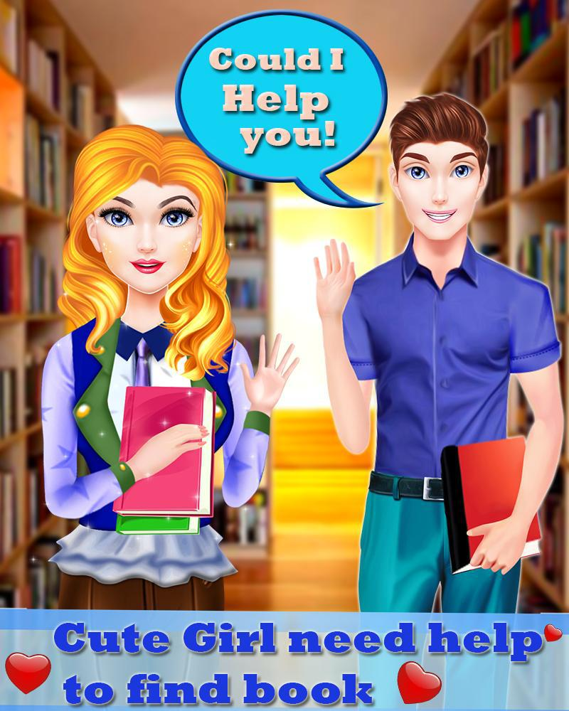 High School Gossip Girl - Crush & Love 游戏截图2