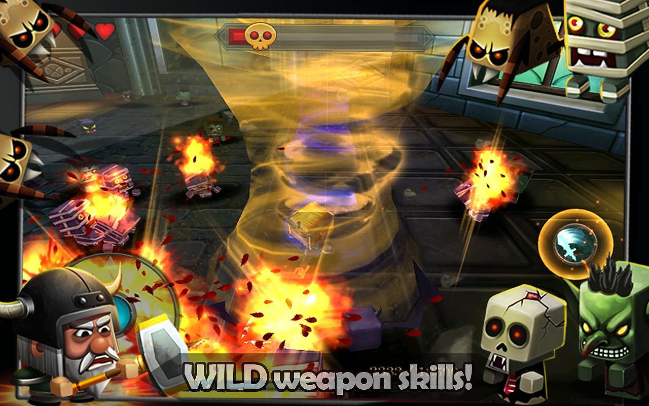 小小传奇 - 狂战士 游戏截图4