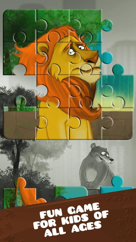 动物园里的动物 - 益智游戏 游戏截图1