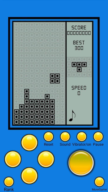 经典掌机方块-回味童年的乐趣 游戏截图1