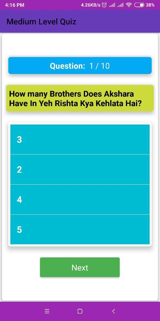 YRKKH Quiz - Question Answer 游戏截图4