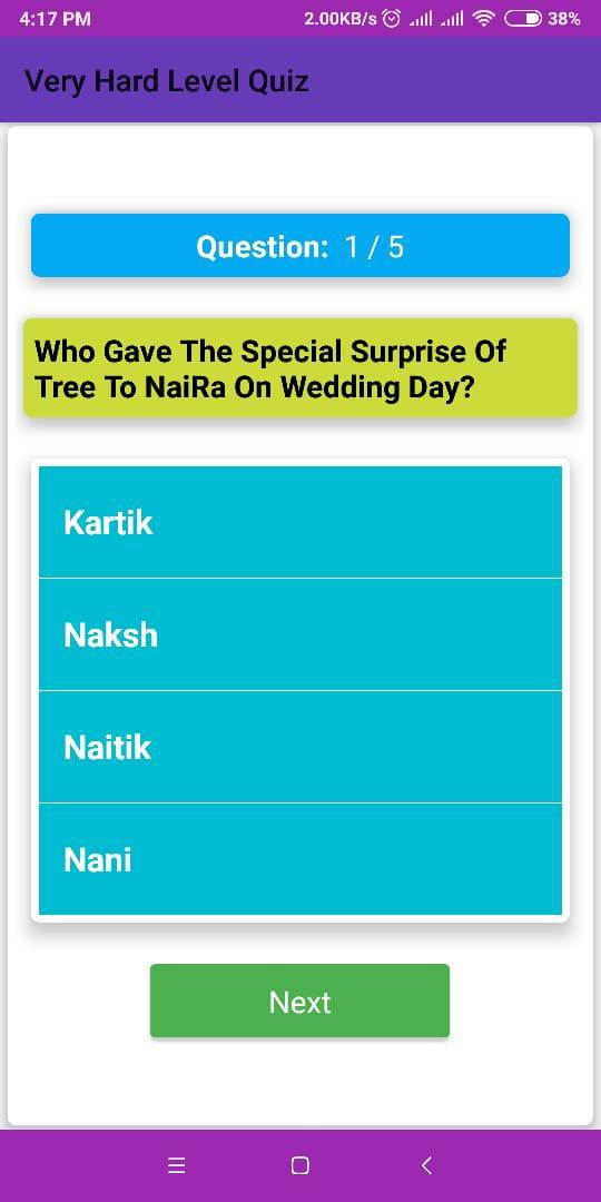 YRKKH Quiz - Question Answer 游戏截图5