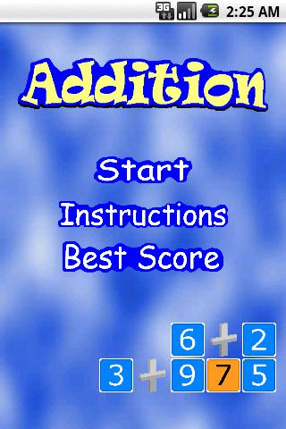 Addition Quest 游戏截图1