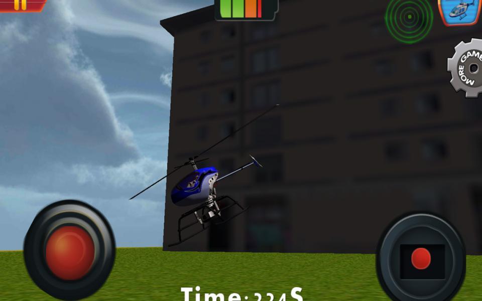 遥控玩具直升机 游戏截图2