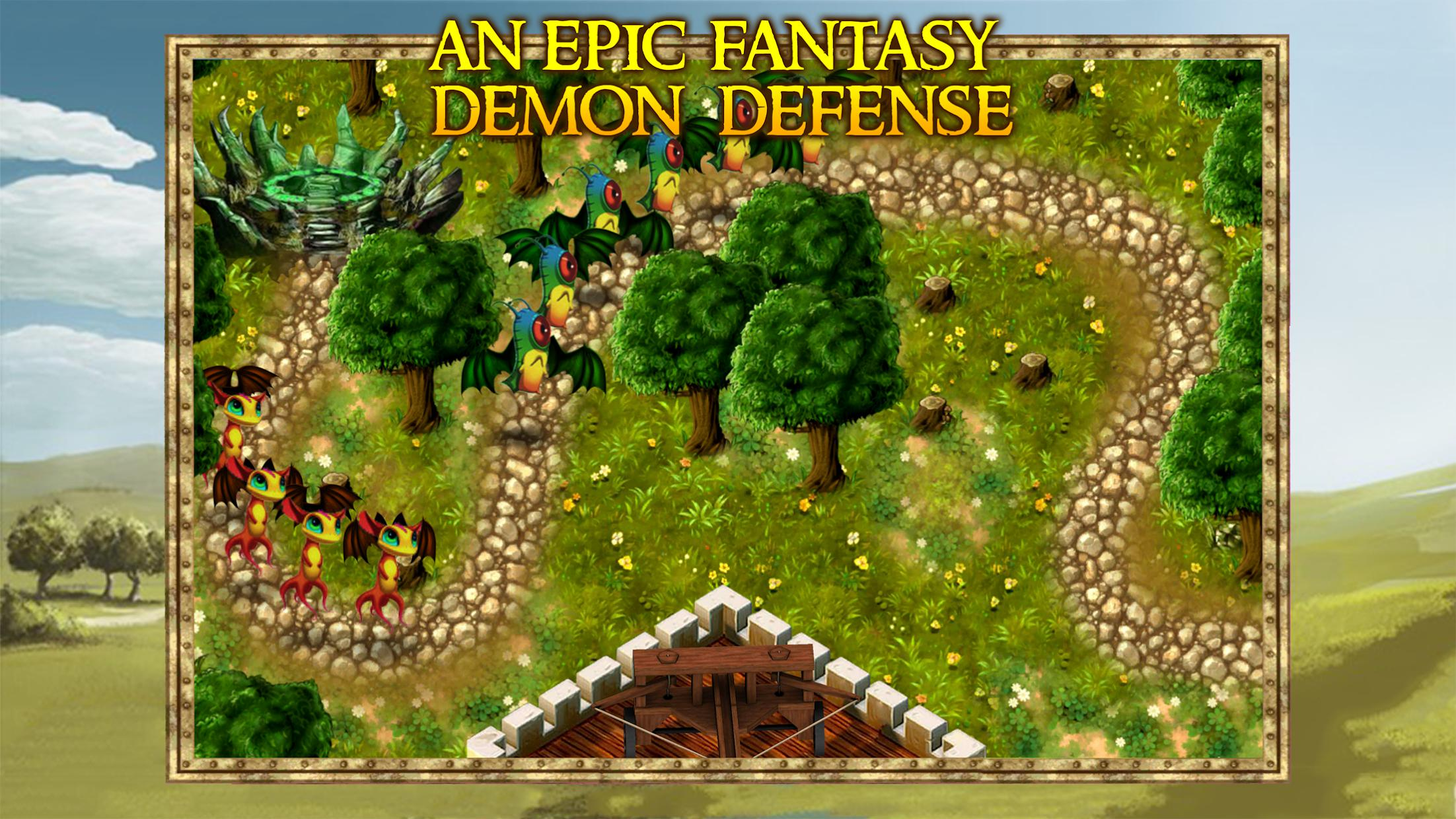 Demon Gate: Crown Defense 游戏截图1