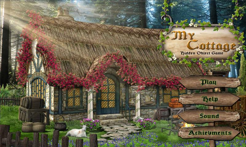 # 36 Hidden Objects Games Free New - My Cottage 游戏截图2