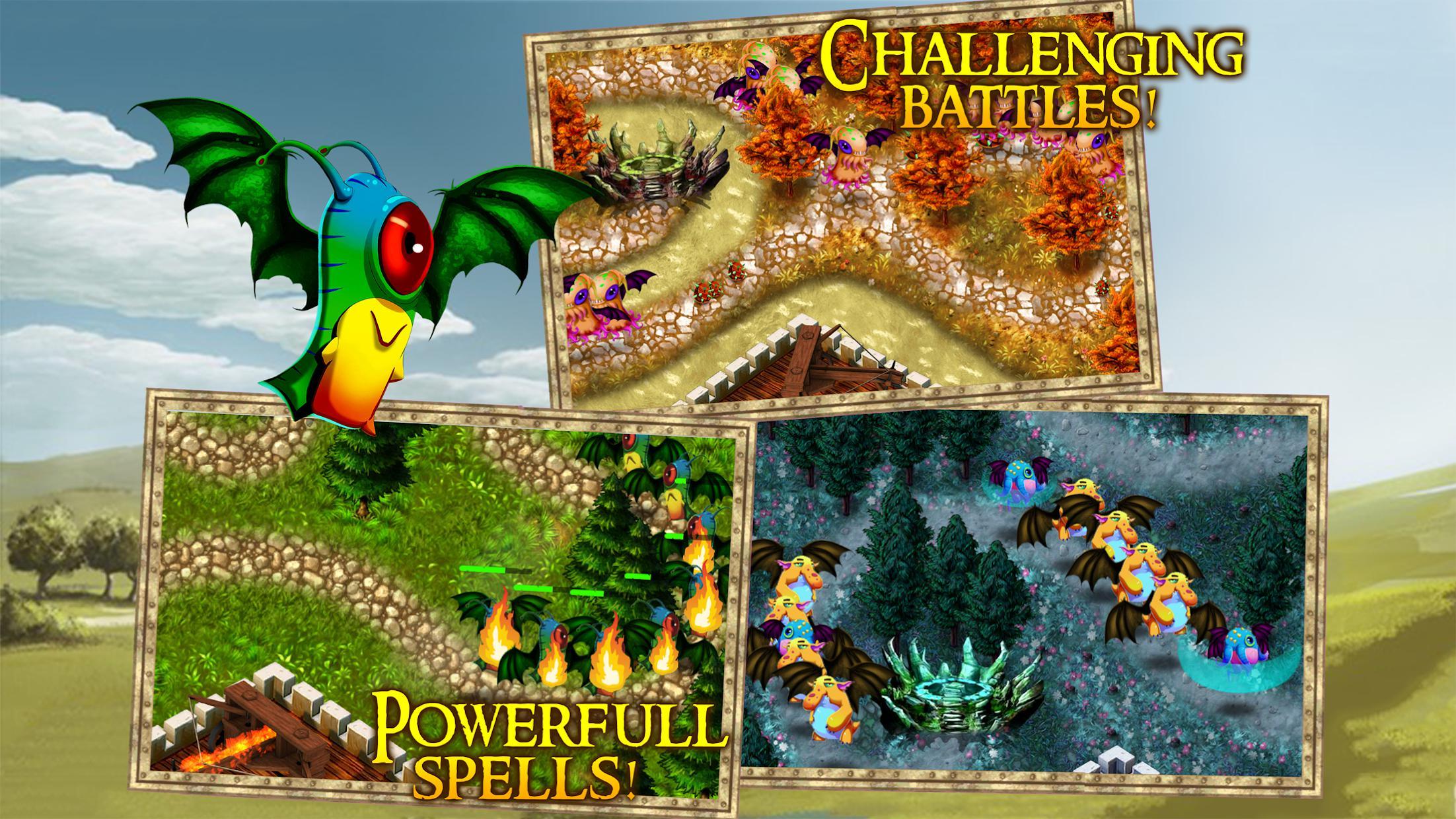Demon Gate: Crown Defense 游戏截图2