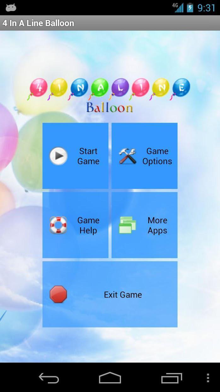 四子棋-气球免费版 游戏截图1