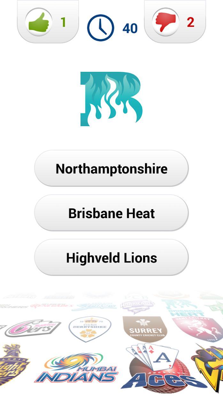 Logo Cricket Quiz 游戏截图3