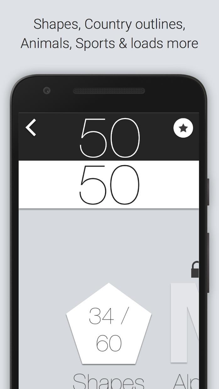 50 50 - Addictive Slicing Game 游戏截图4