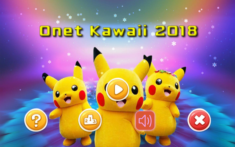 Onet Kawaii 2018 游戏截图1