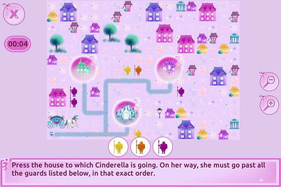 Cinderella Story Fun Educational Girls Games 游戏截图3