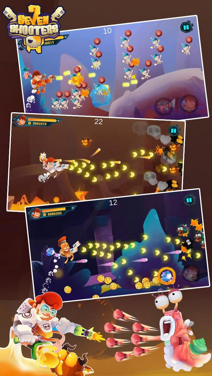 Galaxy Shooter: Seven Worlds (Seven Shooter  ) 游戏截图1