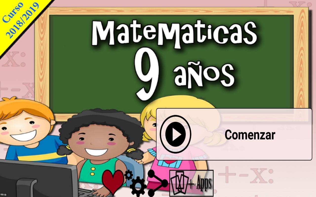 Matemáticas 9 años 游戏截图1