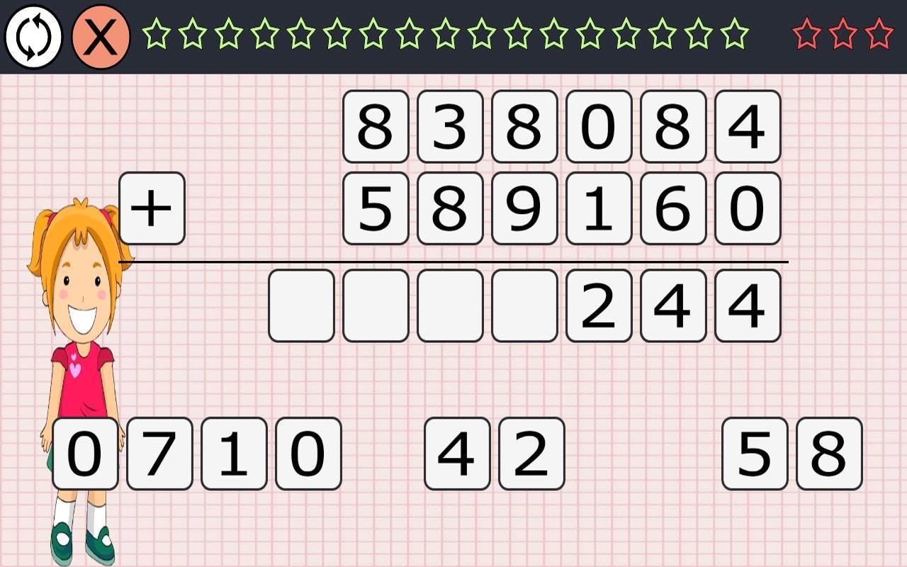 Matemáticas 9 años 游戏截图3