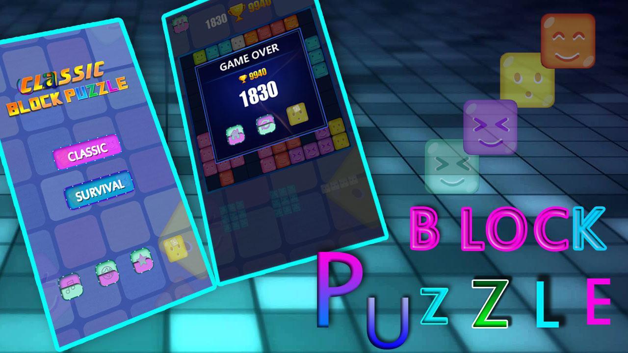 Classic Block Puzzle Game 游戏截图1