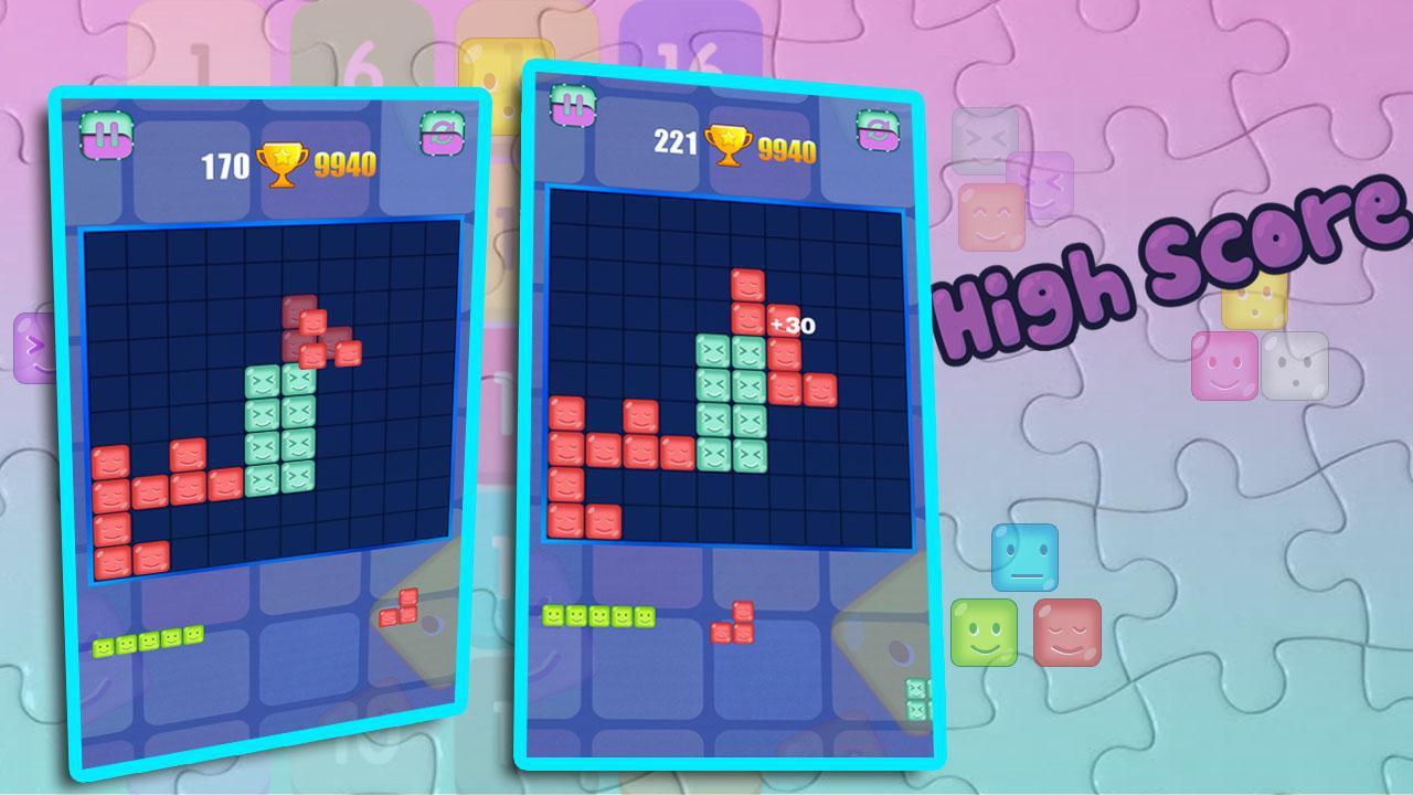 Classic Block Puzzle Game 游戏截图2