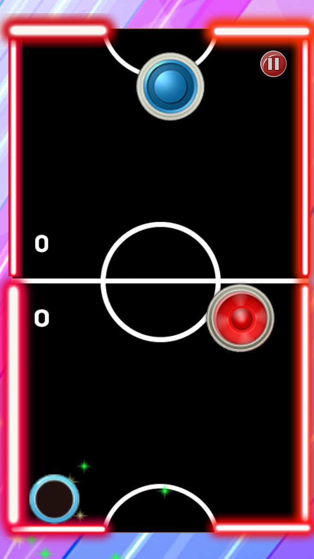 Glow Hockey Ultimate 游戏截图2