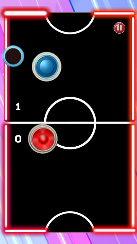 Glow Hockey Ultimate 游戏截图5