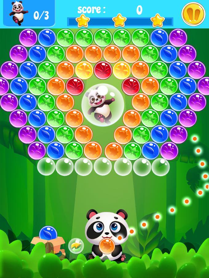 熊猫宝宝爱泡泡 游戏截图1