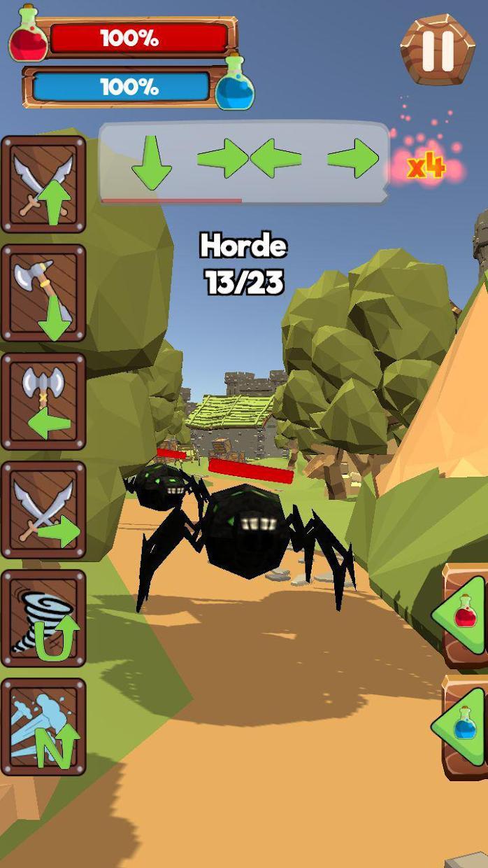 Stranger Warrior: Kingdom Hero 游戏截图5