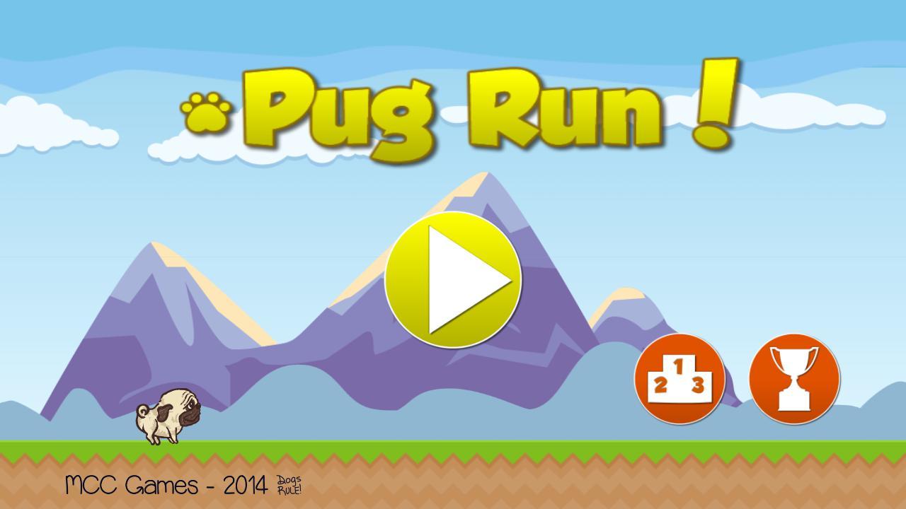 Pug Run! 游戏截图1