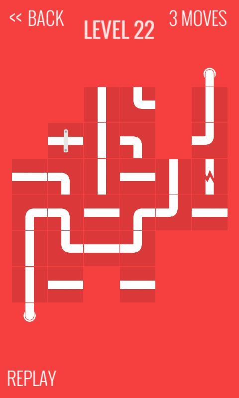 Slide the pipes puzzle 游戏截图4