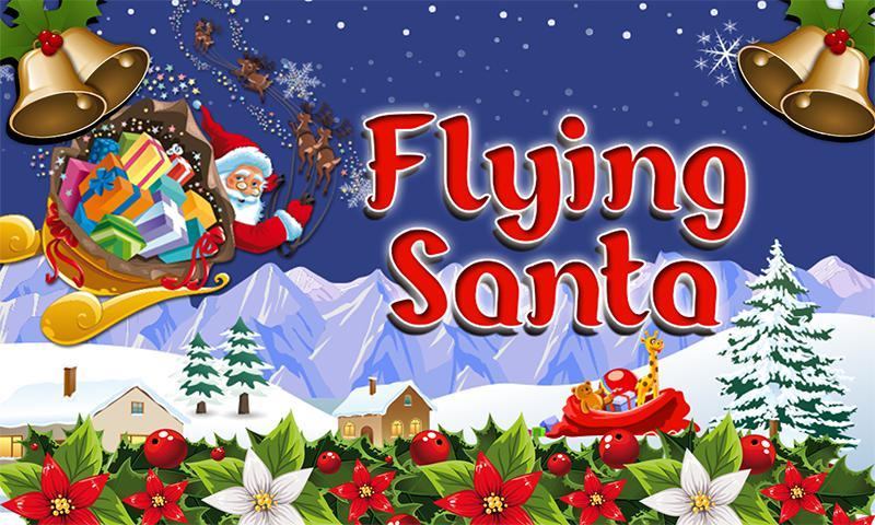 Flying Santa 游戏截图1