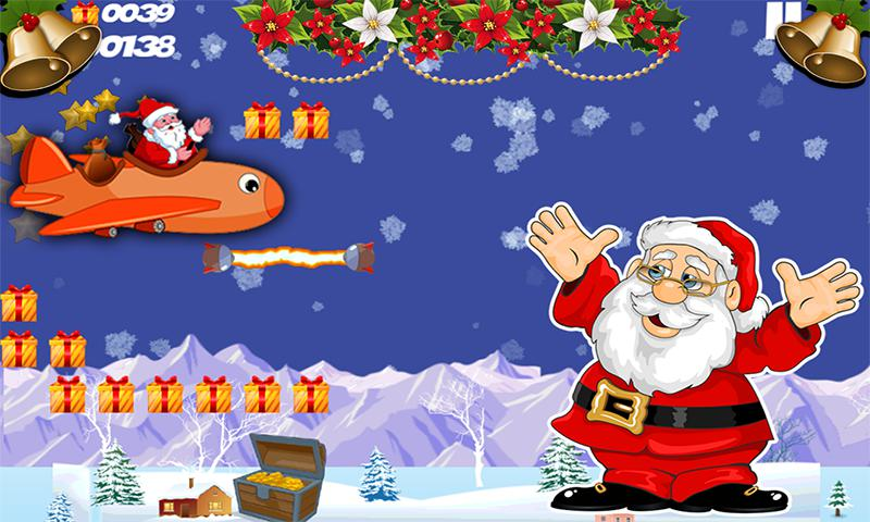 Flying Santa 游戏截图2